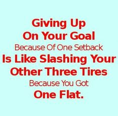 Never give up on your goal of the ultimate recovery with your TBI