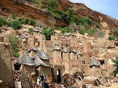 ドゴン族の住居