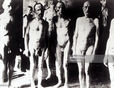 Auschwitz Gas Chamber, Men waiting in front of a gas chamber at Auschwitz concentration camp in Poland. 1943. Seven buildings existed which were used as gas chambers from 1941-1944. The photo was taken by a German guard. Poland.
