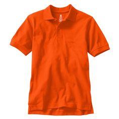 b161d8dbd Boys 8-20 Chaps Solid Pique School Uniform Polo