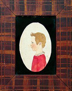 Rufus Porter * Child of Lane Family, Minot, Maine, ca. 1815.