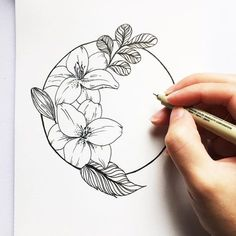 Flowers drawing sketches floral ideas for 2019 Flower Sketches, Drawing Sketches, Drawing Drawing, Sketching, Daphne Flower, Tattoo Drawings, Art Drawings, Drawings Of Plants, Tattoo Ideas