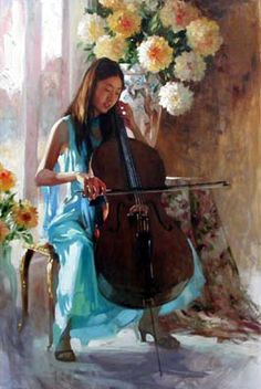 Richard S. Johnson - Lily Portrait
