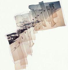 Polaroid Image Transfers. Ian Ruhter