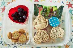 Preschool Bentos by MeaganMusing, via Flickr