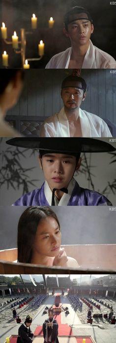 [TV리포트 = 이혜미 기자] 선조 이성재의 카리스마와 광해군 서인국의 부드러운 존재감이 '왕의 얼굴'을 장악했다. 19일 첫 방송된 KBS2 '왕의 얼굴' ...