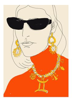 Lipstick of London is proud to exclusively represent Rosie McGuinness, one of leading fashion and editorial illustrators based in London. Painting Inspiration, Art Inspo, Mode Portfolio Layout, Art Sketches, Art Drawings, Illustration Arte, Art Du Croquis, Fashion Art, Illustrators