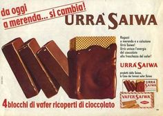 Il buonissimo ed indimenticato Urrà Saiwa. Il perché non lo facciano più è il mistero più grande dopo la creazione dell'universo! Vintage Advertising Posters, Vintage Advertisements, Vintage Ads, Vintage Posters, My Childhood Memories, Sweet Memories, Nostalgia, Oldies But Goodies, Old Ads