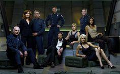 Battlestar Galactica Cast HD Wallpaper
