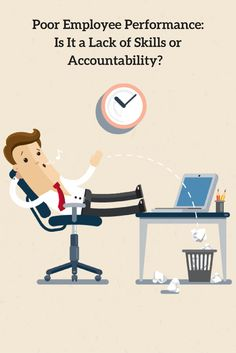 Not sure how to improve poor employee performance? Start by defining the problem. #HR http://www.insperity.com/blog/poor-employee-performance-lack-skills-accountability/?utm_source=pinterest&utm_medium=post&utm_campaign=outreach&PID=SocialMedia