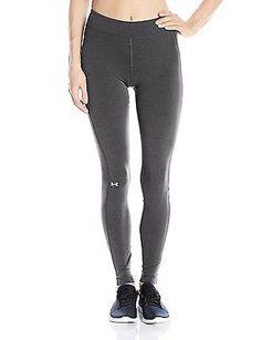 X-Large, Carbon Heather, Under Armour UA HG Women's Fitness Leggings