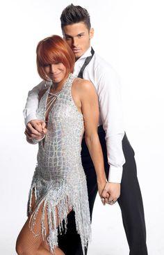 Baptiste Giabiconi et Fauve Hautot - Danse avec les stars 2