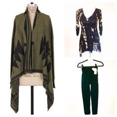 Kali Rose Boutique fall uniform= Cardigan+Tunic+Leggings