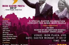 The second edition of 2017 Easter celebration concert in Akwa Ibom State will witness the state governor His Excellency Deacon Udom Emmanuel and wife Deaconess Martha Udom Emmanuel in attendance scheduled to hold on Easter Monday 17th April 2017 at Ibom Plaza in Uyo by 7pm.   In the same spirit of Easter the number three citizen of the state the speaking speaker of the House of Assembly Rt. Hon. (Barr.) Onofiok Luke will also lead other members of the 6th Assembly to grace the second edition…
