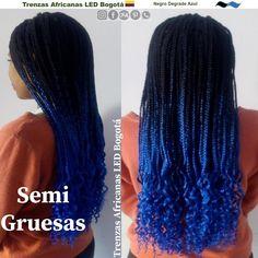 #trenzasafricanasledbogota @trenzasafricanasledbogota #trenzas_africanas_led @trenzas_africanas_led #trenzasafricanasenbogota @trenzasafricanasenbogota @trenzasafricanassoacha #trenzasafricanassoacha @trenzasafricanascundinamarca #trenzasafricanascundinamarca Dreadlocks, Led, Hair Styles, Beauty, Blue Box Braids, Blue Nails, White People, Two Tones, Tree Braids