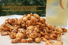 Sweet & Spicy Roasted Nuts Recipe  5 Dinner Recipes for Nut Lovers| Friday Feasts  http://2via.me/im9kDg5111