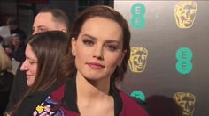 Daisy Ridley at the BAFTAs 2017