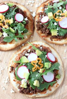 Spicy Mexican Pizzas