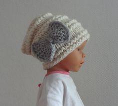 Baby winter hat Photo Prop Hat Newborn Hipster Hat by Ifonka