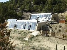 two story earthship