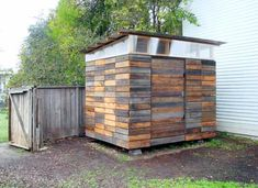 Shed Inspiration Reclaimed Fence