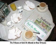 The Trib stopped for a treat at Café Du Monde.