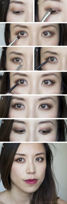Cocoa Mirage Brown Smoky Eye Matte Berry Lip FOTD tutorial