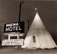 Motel, Highway 66, Holbrook, Arizona by Steve Fitch / American Art