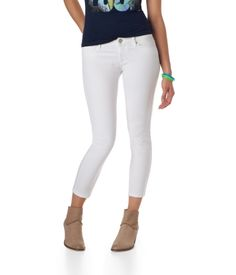 Lola White Cropped Jegging from Aéropostale