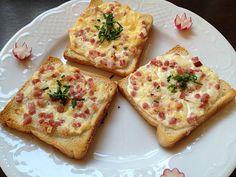 Kochen & Backen & Genießen: Flammkuchen Toast