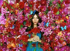 Mika Ninagawa: Color is Life #flowers