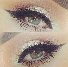 Eye makeup great for those who have green or hazel eyes