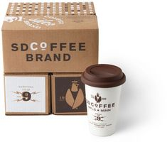 Sussner Design: SDCoFFEE #packaging design