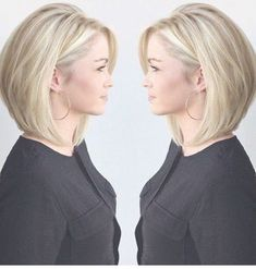77 Trendy Bob Hairstyles For All Occasions - Page 12 of 77 - CoCohots - 77 Tren. 77 Trendy Bob Hairstyles For All Occas. Hair Styles 2016, Medium Hair Styles, Curly Hair Styles, Bob Hairstyles For Fine Hair, Chic Hairstyles, Hairstyle Ideas, Medium Bob Hairstyles, Womens Bob Hairstyles, Natural Hairstyles