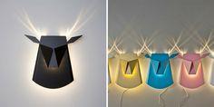 Vynaliezavé lampy, ktoré sa po zapnutí zmenia na zvieratá