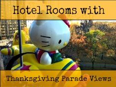 Hotels for NYC's Thanksgiving Day Parade: 8 Rooms with Macy's Parade Views