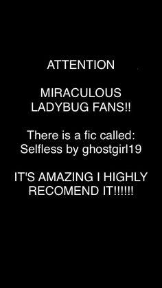 Miraculous Fanfiction