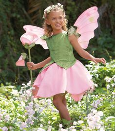 Sweet Pea Flower Fairy Costume / Chasing Fireflies @ http://www.chasing-fireflies.com/sweet-pea-flower-fairy-costume/productinfo/31322/#