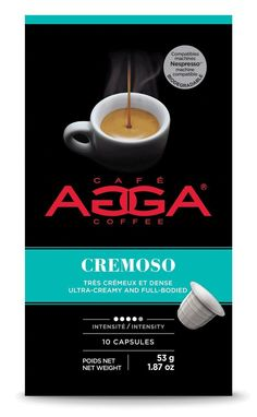 Café Agga Coffee 60 CAPSULES Cremoso ESPRESSO Nespresso Compatible * Check this awesome product by going to the link at the image.