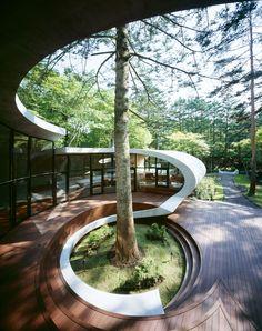 Shell House - By: Kotaro Ide (2008) - Karuizawa, Japan
