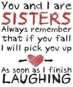 Lol. Love you Sis:))