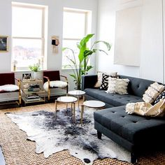 Adore Shelby Girard from @Havenly s amazing loft! What a great spot. Want to see us recreate it for less? Get your vote on! Picture with the most likes will be our next room redo!  Julia Brenner #CopyCatChic