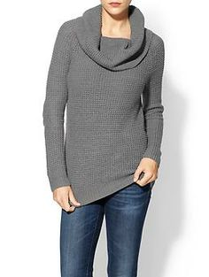 Hive & Honey Waffle Cowl Sweater | Piperlime