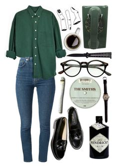 """Hemlighet"" by babyvulcan ❤ liked on Polyvore featuring Yves Saint Laurent and WALL"