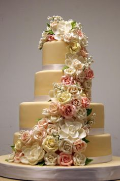 The Nanette by White Flower Cake Shoppe.  These ladies are awesome.  Their cakes are just gorgeous.