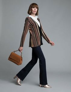 Striped Pants, Jumpers, Knitwear, Chic, Style, Fashion, Striped Tights, Shabby Chic, Moda