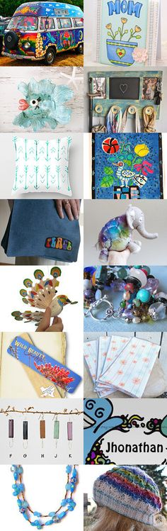 Feeling Groovy  by Margie on Etsy--Pinned+with+TreasuryPin.com