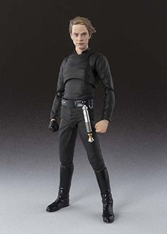 Bandai SH Figuarts Star Wars Luke Skywalker Episode Vi Action Figure From Japan for sale online Star Wars Luke Skywalker, Luke Skywalker Action Figure, Star Wars Toys, Star Wars Art, Star Wars Episode 6, Pvc Paint, Look Star, Black Costume, Star Wars Action Figures