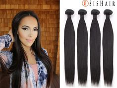 Virgin hair has never been dyed, bleached, permed or straightened. The cuticles are kept intact and all the hairs run in the same direction. Protective Hairstyles, Weave Hairstyles, Straight Hairstyles, Hair Products Online, Hair Online, Hair Extension Shop, Peruvian Hair Weave, Hair Design, Hair Weft