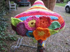 #crochet #bike